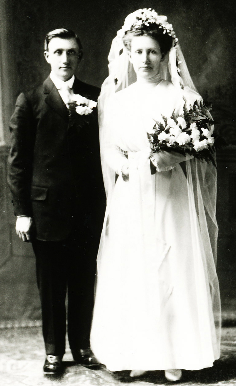 Robert Friestad and his wife Ida May Thorson